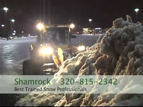 Snow Removal - http://www.shamrocksalesandservice.com Shamrock Sales and Service - We have been pioneers in the Commercial Snow Removal Industry for 35 years developing saf...