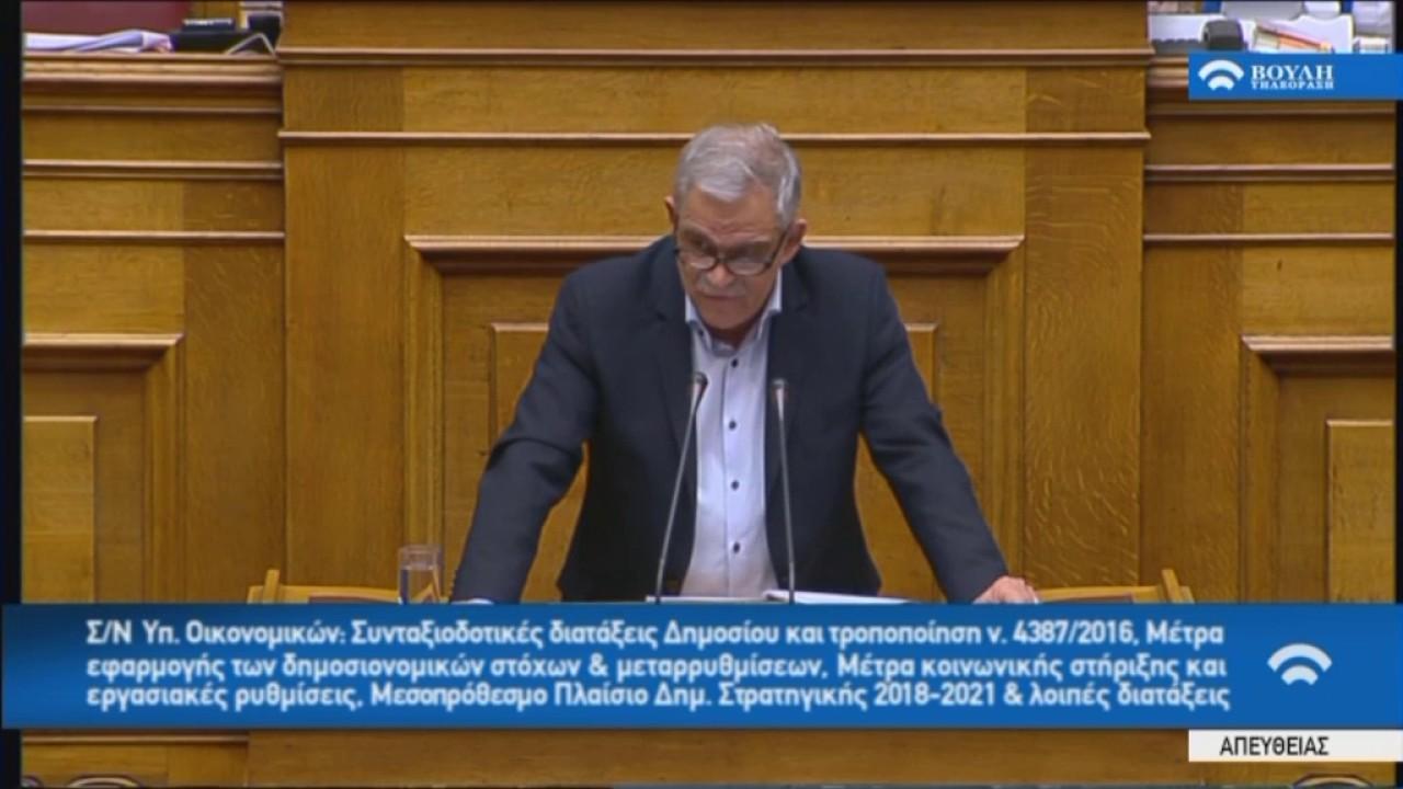 Ν.Τόσκας(Αν.Υπουργός Εσωτερικών)(Μέτρα εφαρμογής δημοσ.στόχων και μεταρρ.)(17/05/2017)