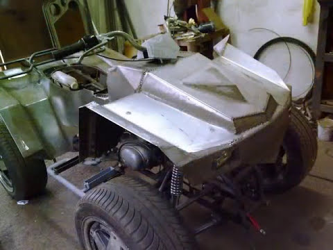 rucni rad - ATV Quad 150 cc homemade.