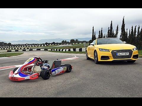 Audi TTS Roadster vs. Rennkart – GRIP – Folge 309 – RTL2