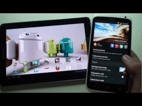 Video of Panoramic Screen