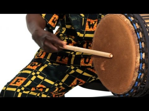 How to Play the Dundun | African Drums