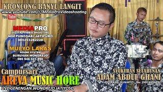 KRONCONG AREVA MUSIC HORE BANYU LANGIT LIVE WONOREJO JATIYOSO