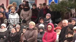 Poland: Funeral held for victims of escape room fire