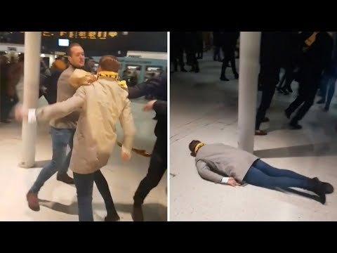 Guy Knocked Out With One Punch