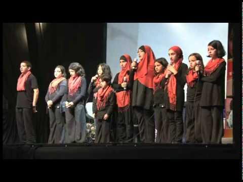 Ma chère soeur - Chorale Rissala lors de l'évènement organisé par Islamic Relief Nederland 29 Mai 2011