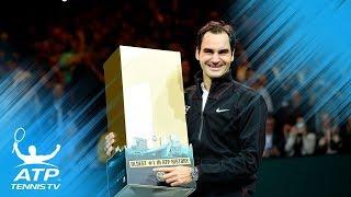 Roger Federer World No.1 presentation and speech! | Rotterdam 2018