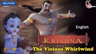 Video Little Krishna English - Episode 12 The Vicious Whirlwind MP3, 3GP, MP4, WEBM, AVI, FLV November 2018