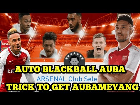 AUTO SI BB PETIR AUBAMEYANG DI ARSENAL CLUB SELECTION !!! SI PELARI UNGU !!!