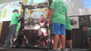 John Haack 1708lb total at 181-Drug-Tested All-Time American Record