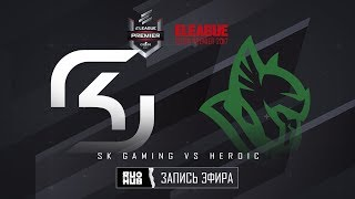 SK Gaming vs Heroic - ELEAGUE Premier 2017 - map3 - de_mirage [yXo, CrystalMay]