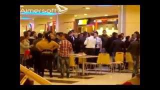 Е няма такова нещо - Масов бой на роми в Mall Varna