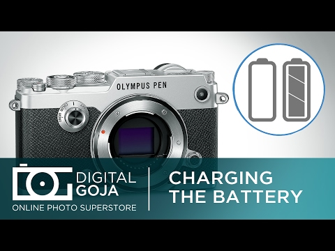 Can I Charge the Battery Through USB on the Olympus Pen F? | FAQ Video Tutorial