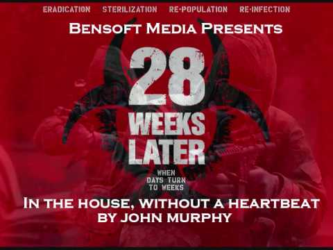 In - In the House, In a Heartbeat, part of the 28 Days Later Soundtrack. For anyone that is interested, the version that also appeared in 28 Weeks Later is on my ...