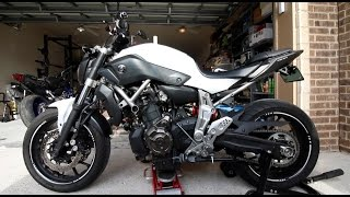10. The HARDEST Thing to do on a FZ-07