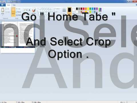 Convert Free Microsoft Word Document To JPEG (Picture) By Using MS Paint
