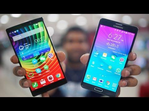 Lenovo Vibe Z2 Pro vs Galaxy Note 4 Comparison!