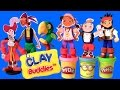 Clay Buddies Jake and the NeverLand Pirates Play-Doh Captain Hook Skully Izzy Cubby Pirate PlayDough