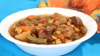 Get the recipe: http://www.amylynnskitchen.com/soups/crockpotbeefvegetablesoup.html This is a cozy, comfort food that is full of...