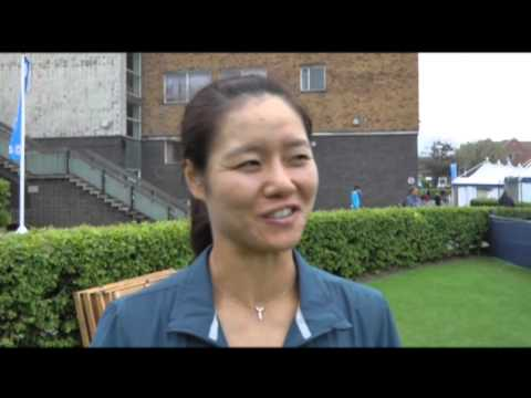 TALK ABOUT DOWN TO EARTH - HERE'S LI NA