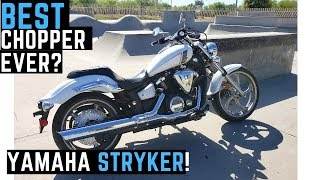 2. Watch BEFORE You Buy! Yamaha Stryker 1300 Best Production Chopper? Fury2013 Raider Ride Review Cobra
