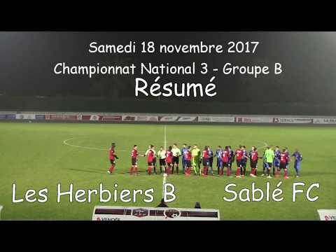 Résumé Les Herbiers - Sablé FC 18.11.2017