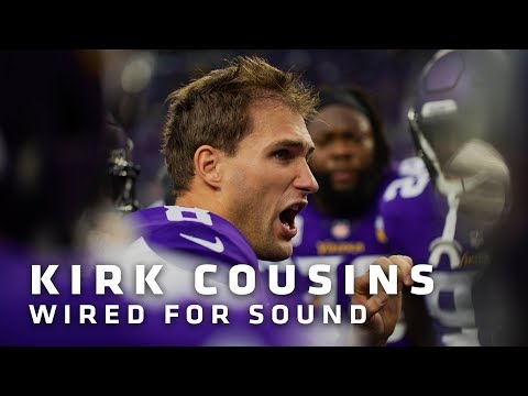 Wired For Sound: Kirk Cousins vs. Arizona Cardinals | Minnesota Vikings
