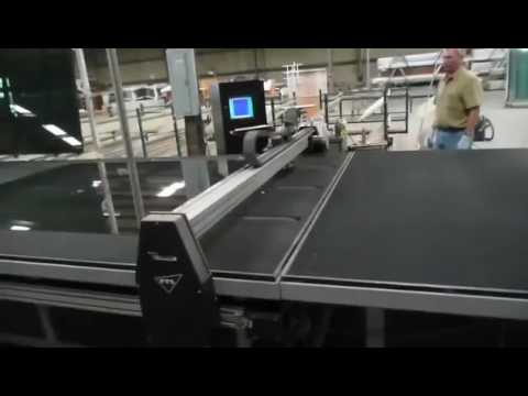 PST CNC Glass cutting table