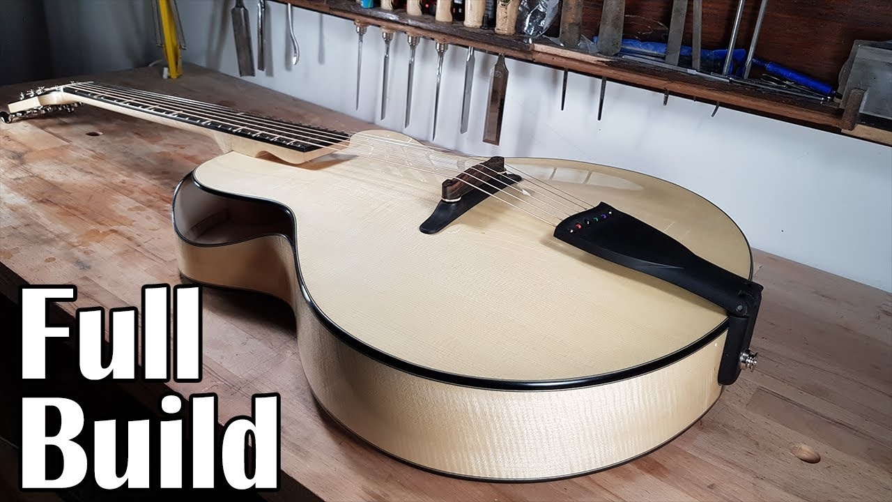 How I Made a Custom Archtop Guitar (Full build)