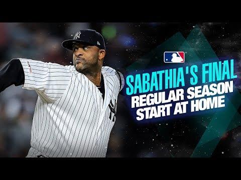 Video: Sabathia's final start at home