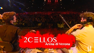 http://www.facebook.com/2Celloshttp://www.instagram.com/2cellosofficial 2CELLOS Luka Sulic and Stjepan Hauser performing Fields Of Gold by Sting at their historical 5th anniversary concert at Arena di Verona, May 2016Filmed by MedVid produkcijaDirected by Kristijan BurlovicVideo editing by Stjepan Hauser & Ivan StifanicSound by 2CELLOS, Miro Vidovic & Filip VidovicLighting design by Crt Birsa