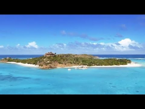 Richard Branson's story of Necker Island