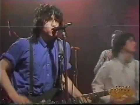 Gem Archer - Gem Archer and his first band, The Edge, in late April 1986 at Tyne Tees TV in Newcastle. The first song is Kid Sister. The second song is called Doggy Song.