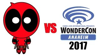 VIDEO: Deadpool Delivers Lots of Laughs at WonderCon 2017