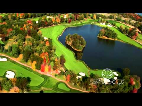 This aerial tour of the remodeled SentryWorld Golf Course was photographed as the new grass was taking root in the fall of 2013 before the first snowfall.  The course will reopen in mid 2014.
