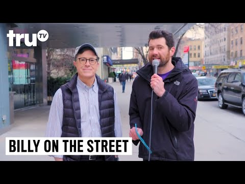 Billy On The Street With Stephen Colbert