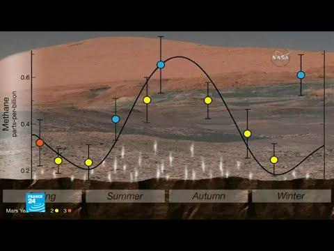 العرب اليوم - بالفيديو: مواد عضوية على سطح المريخ