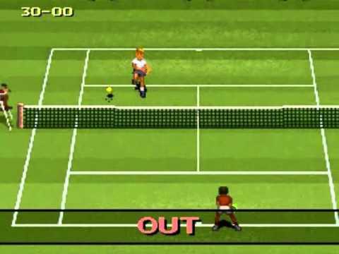 International Tennis Tour Super Nintendo