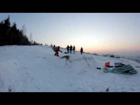 Mstów Snowpark 'M-Stuff' Rozdziewiczanie Hopy. *M.A*