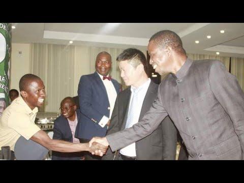 Bwana Njombe meets President Lungu  #BwanaNjombe #Adada #PresidentECL #chagwalungu