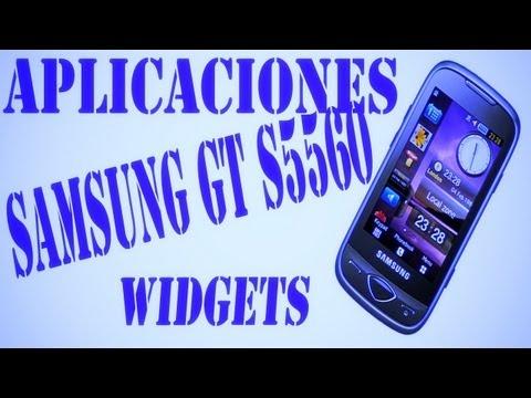 aplicaciones y widgets samsung gt s5560 samsung s5560 marvel review