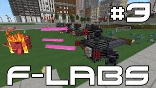 Minecraft F-Labs - EPIC MISSILE TURRETS! #3