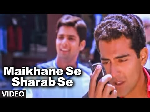 Video Maikhane Se Sharab Se (Full Video Song) - Pankaj Udhas Hit Songs
