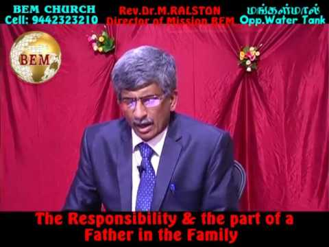 The responsibility and the part of a father in the family-Part-2