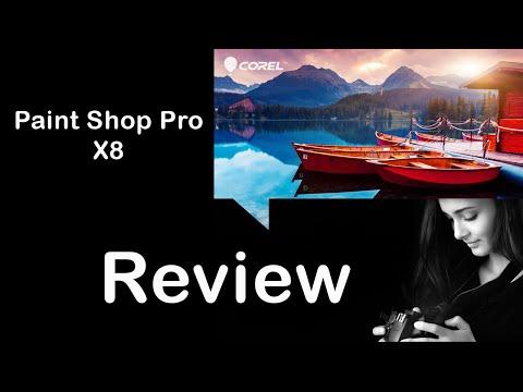 Corel Paint Shop Pro X8, REVIEW
