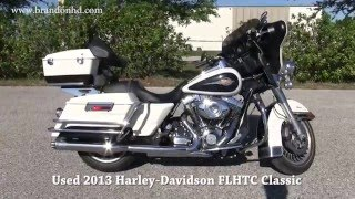 8. 2013 Harley Davidson FLHTC Electra Glide Classic for sale in Tampa