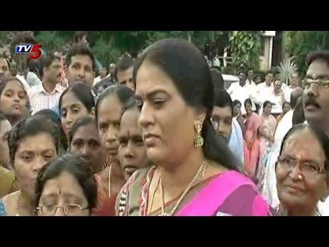 Harish Rao Wife Bathukamma Celebrations in Telangana Bhavan  TV5 News