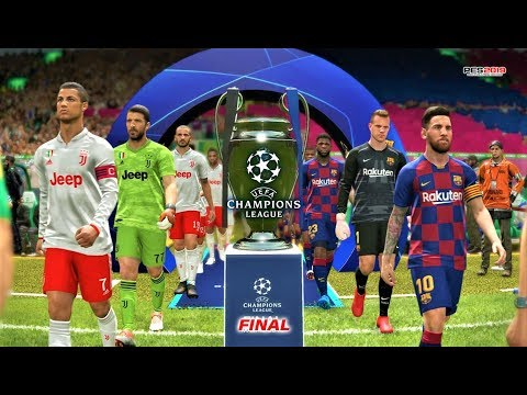 PES 2019 | Barcelona vs Juventus | Final UEFA Champions League