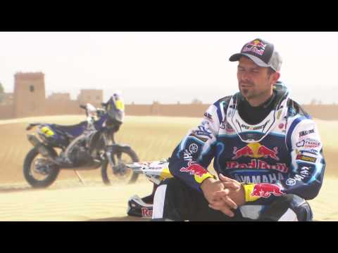 Dakar 2014 Extreme Motorbike Rally on Desert