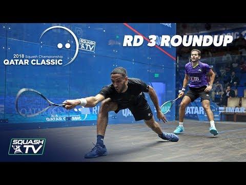 Squash: Round 3 Roundup - Qatar Classic 2018